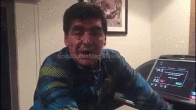El Patagónico en Abu Dabi, el detrás de escena del cumpleaños de Maradona