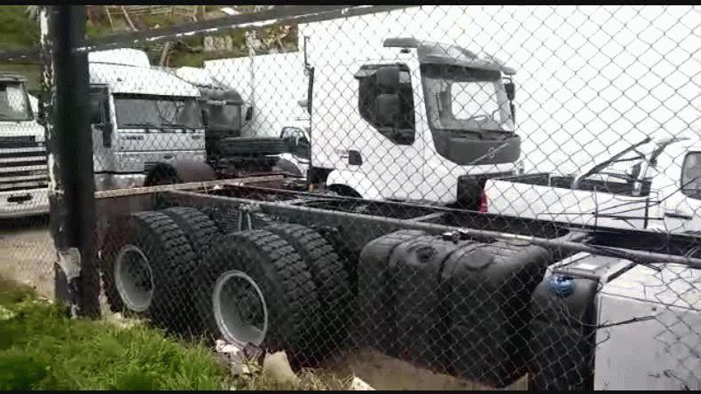 Detienen a Pablo Barreto por el robo  de neumáticos de camión y baterías