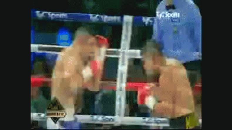 El Tigre Saldivia fue descalificado en el octavo round