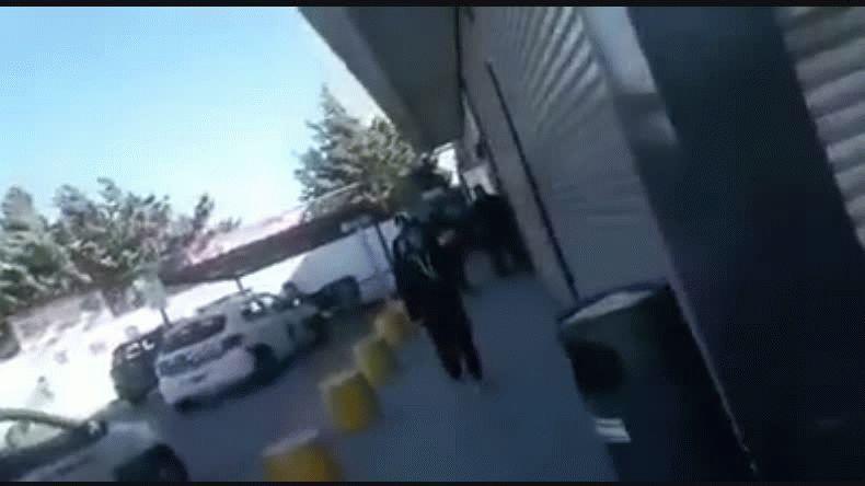 Intentaron saquear un supermercado y hay nueve detenidos