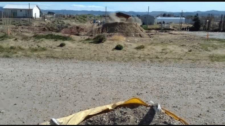 Encontraron un proyectil de mortero en Restinga Alí y lo explotaron en el lugar