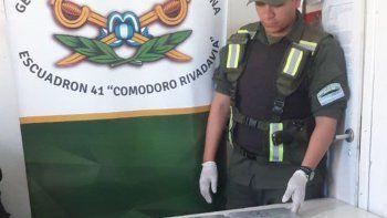 Un anterior procedimiento de Gendarmería Nacional por una causa de narcotráfico. Ahora realizó 18 allanamientos, detuvo a siete personas e incautó cocaína y marihuana.