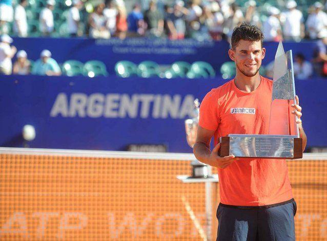 Dominic Thiem conquistó por primera vez el Argentina Open