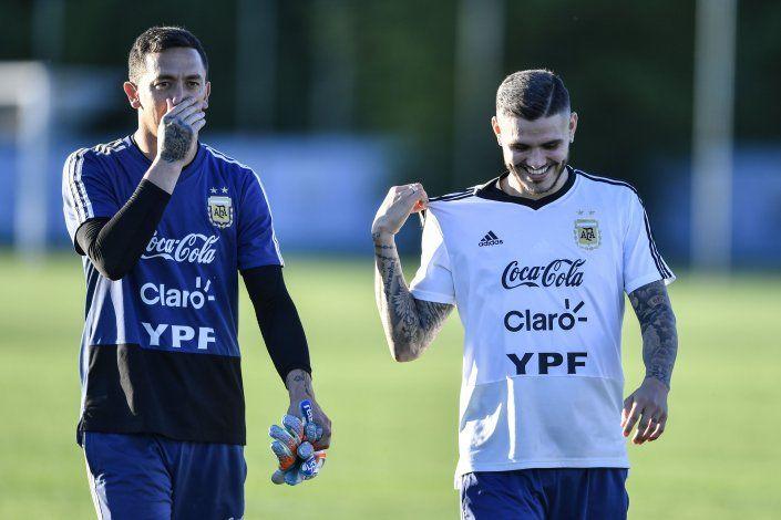 El arquero Agustín Marchesín será esta noche titular en la formación de Argentina