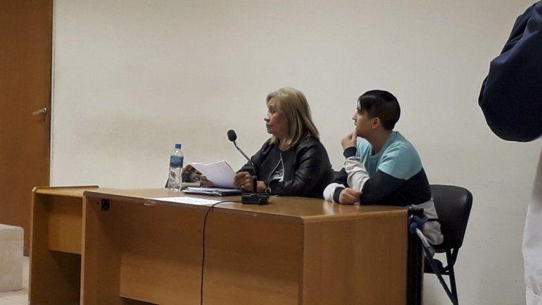 Rodrigo Nieves está siendo juzgado por el homicidio del mecánico Jorge Olivera