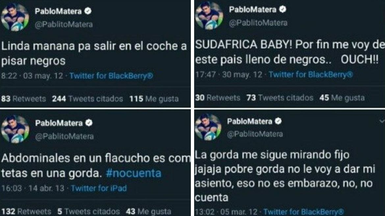Revelan tuits xenófobos y discriminadores del capitán de Los Pumas