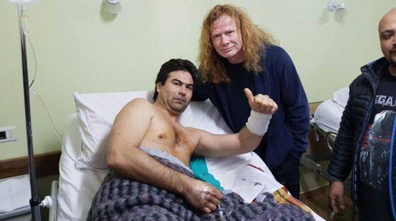 Víctor Fabián Vargas fue apuñalado en recital de Megadeth y el líder de la banda