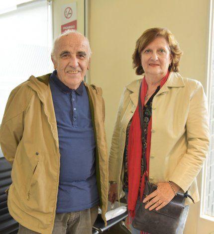 Antonio Vento y Liliana Chiarotti son miembros de la Lista 1 que buscará ser la nueva comisión directiva del Centro de Jubilados y Pensionados de Rada Tilly.