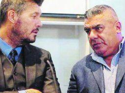 """A cara de perro. Marcelo Tinelli y Claudio """"Chiqui"""" Tapia hicieron lo posible por mantener la paz en el fútbol argentino. Pero sus ideas siempre transitaron por caminos opuestos."""