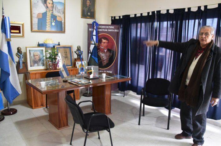 El presidente de la Asociación Sanmartiniana